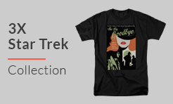 3X Star Trek T-Shirts