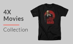 4X Movies T-Shirts - 4XL T Shirts