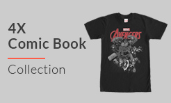 4X Comic T-Shirts