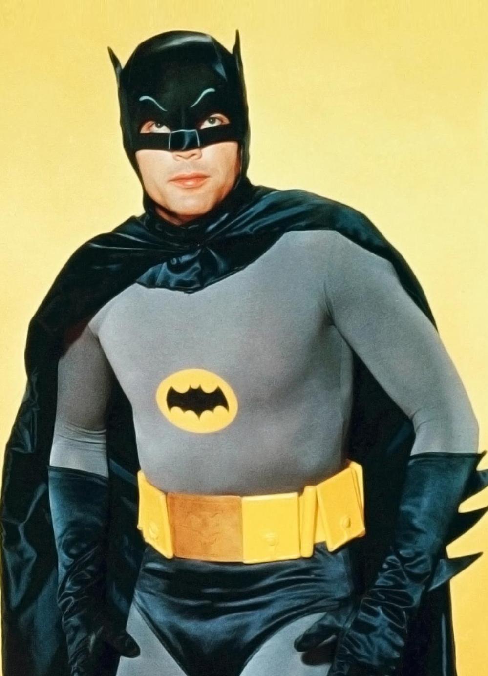 NEW /& OFFICIAL Classic Adam West Logo Sweatshirt Batman