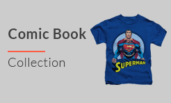 Comic Book Youth and Kids T-Shirts