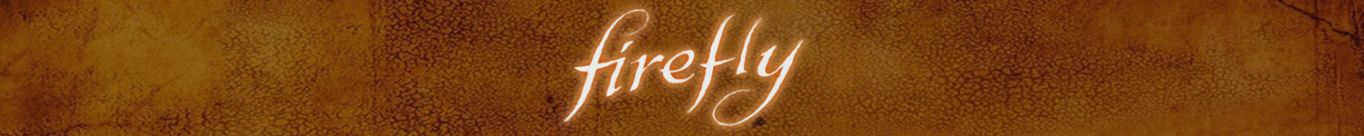 Banner for Firefly t-shirts