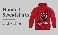 horror movie Hooded Sweatshirts