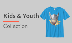 Marvel t-shirts for Youth & Kids