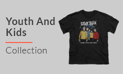 Star Trek tees for Youth And Kids