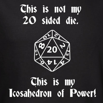 Banner for Dungeons and Dragons t-shirt category