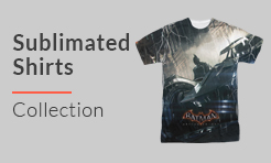 Video Games Sublimated T-Shirts