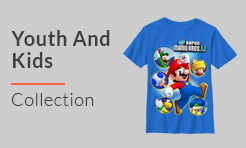 Video Games Youth and Kids T-Shirts