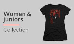 horror movie women and juniors t-shirt