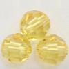 Swarovski 5000 4mm Round Beads Light Topaz  (72 pieces)