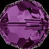 Swarovski 5000 6mm Round Beads Amethyst  (36 pieces)