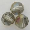 Swarovski 5000 6mm Round Beads Black Diamond Satin  (360 pieces)