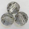 Swarovski 5000 8mm Round Beads Black Diamond  (12 pieces)