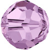 Swarovski 5000 8mm Round Beads Light Amethyst  (12 pieces)