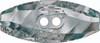 Swarovski 3024 32mm Dufflecoat Crystal Button Jet Hematite (30  pieces)