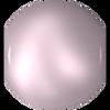Swarovski 5810 8mm Round Pearls Powdered Rose (50  pieces)