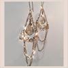 Swarovski 6090 16mm Baroque Pendant Crystal Golden Shadow (4  pieces)