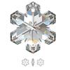 Swarovski 6704 20mm Snowflake Pendant Crystal (3  pieces)