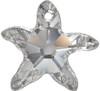 Swarovski 6721 20mm Starfish Pendant Topaz (30  pieces)