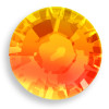 Swarovski 2028 10ss(~2.75mm) Xilion Flatback Fireopal    Hot Fix