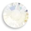Swarovski 2028 10ss(~2.75mm) Xilion Flatback White Opal   Hot Fix
