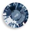 Swarovski 2028 6ss(~1.95mm) Xilion Flatback Crystal Metallic Blue  Hot Fix