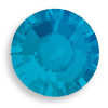 Swarovski 2028 8ss(~2.45mm) Xilion Flatback Caribbean Blue Opal  Hot Fix
