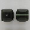 Swarovski 5601 6mm Cube Beads Morion