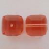Swarovski 5601 8mm Cube Beads Padparadscha