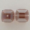 Swarovski 5601 8mm Cube Beads Rose Satin