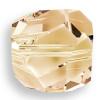 Swarovski 5603 8mm Graphic Cube Beads Crystal Golden Shadow