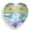 Swarovski 5742 10mm Heart Beads Crystal AB