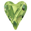 Swarovski 5743 17mm Wild Heart Beads Peridot
