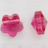 Swarovski 5744 5mm Flower Beads Fuchsia