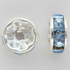 Swarovski 5820 4mm Rhinestone Rondelles Light Sapphire
