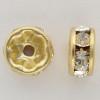 Swarovski 5820 8mm Rhinestone Rondelles Crystal