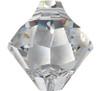 Swarovski 6301 8mm Top-drilled Bicone Cyclamen Opal