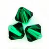 Swarovski 5328 2.5mm Xilion Bicone Beads 5 Emerald