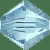 Swarovski 5328 4mm Xilion Bicone Beads Aquamarine