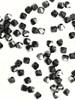 Swarovski 5328 4mm Xilion Bicone Beads Jet Hematite   (72 pieces)