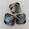 Swarovski 5328 4mm Xilion Bicone Beads Crystal Heliotrope