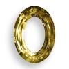 Swarovski 4137 15mm Oval Ring Beads x11 Crystal Tabac