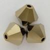 Swarovski 5328 5mm Xilion Bicone Beads Crystal Dorado 2X
