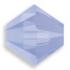 Swarovski 5328 4mm Xilion Bicone Beads Air Blue Opal