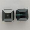 Swarovski 5601 8mm Cube Beads Montana Satin