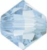 Swarovski 5328 4mm Xilion Bicone Beads Crystal  Blue Shade   (72 pieces)
