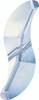Swarovski 5525 19mm Wave Bead Crystal  Blue Shade  (72 pieces)