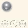 Swarovski 5811 16mm Large Hole Pearls Light Blue (25  pieces)