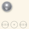 Swarovski 5811 16mm Large Hole Pearls Light Creamrose (25  pieces)