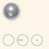 Swarovski 5818 5mm Half-Drilled Pearls Dark Grey (500  pieces)